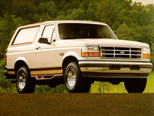 1995 Ford Bronco Recalls