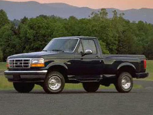 1995 ford f 150 special 4x2 regular cab styleside 116 8 in wb. Black Bedroom Furniture Sets. Home Design Ideas