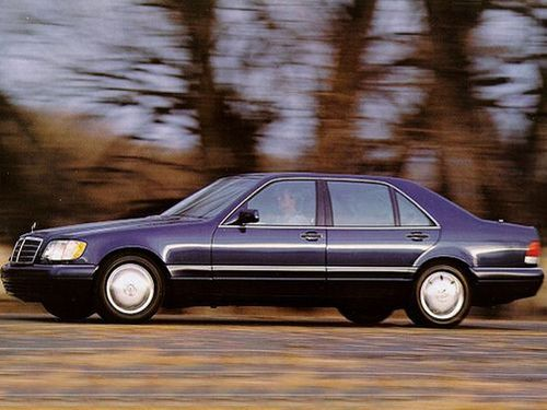 1995 mercedes benz s class reviews specs and prices for Mercedes benz 1995 s320