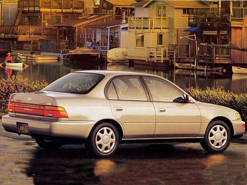 1995 toyota corolla specs pictures trims colors. Black Bedroom Furniture Sets. Home Design Ideas