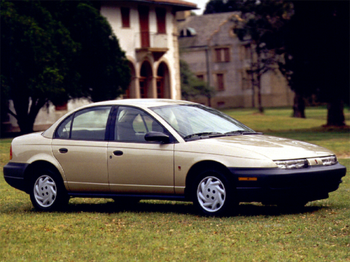 1996 Saturn Sl Overview Cars Com