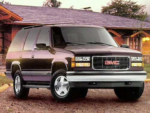 1998 gmc yukon overview. Black Bedroom Furniture Sets. Home Design Ideas