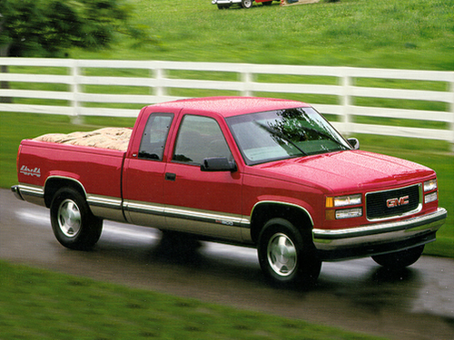 1997 gmc sierra 1500 overview. Black Bedroom Furniture Sets. Home Design Ideas