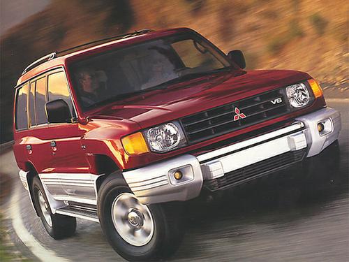 1998 mitsubishi montero - Mitsubishi Montero 1998
