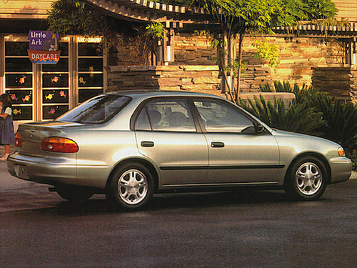 1999 Chevrolet Prizm Overview