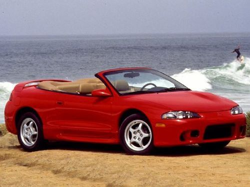 Eclipse Spyder 2dr Convertible Gs T 2 Trims For The 1999 Mitsubishi