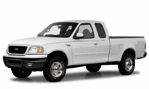 2000 ford f150 work series 4x2 regular cab styleside 119 9 in wb. Black Bedroom Furniture Sets. Home Design Ideas
