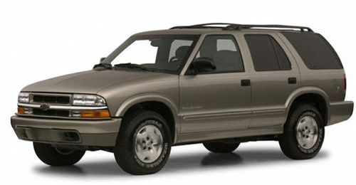 2001 Chevrolet Blazer Recalls