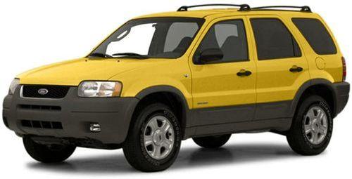 2001 Ford Escape Recalls