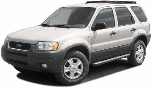 2002 Ford Escape Recalls