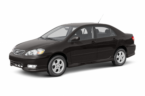 2003 Toyota Corolla Overview Cars Com