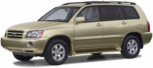 2003 Toyota Highlander Recalls