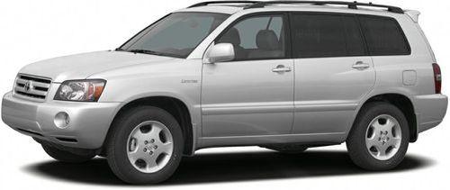 2005 Toyota Highlander Recalls