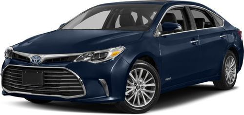2017 Toyota Avalon Hybrid Recalls