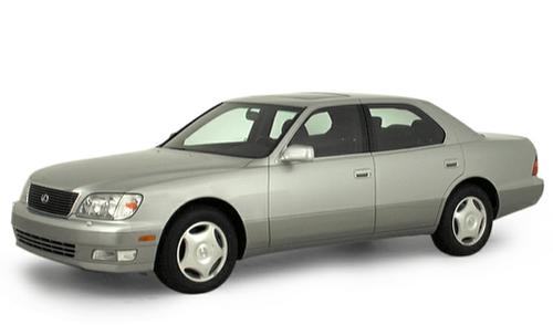 1992–2000 LS 400 Generation, 2000 Lexus LS 400 model shown