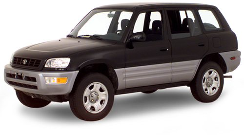 1996–2000 RAV4 Generation, 2000 Toyota RAV4 model shown