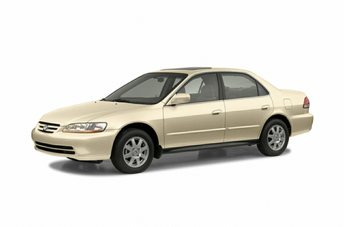 1998–2002 Accord Generation, 2002 Honda Accord model shown
