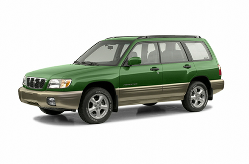 View Subaru Forester 2001 Gold