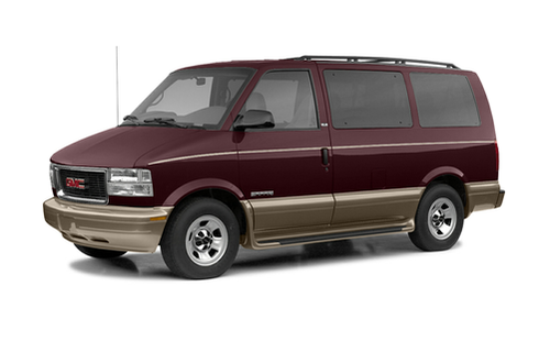 1992–2005 Safari Generation, 2005 GMC Safari model shown