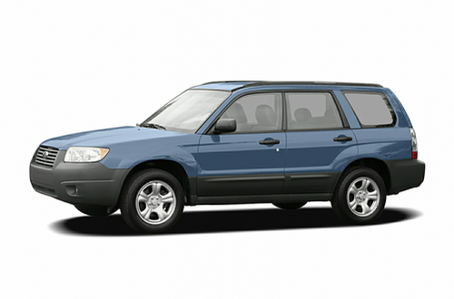 2007 forester specs