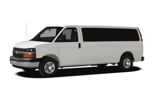 Chevy 3500 express van towing capacity