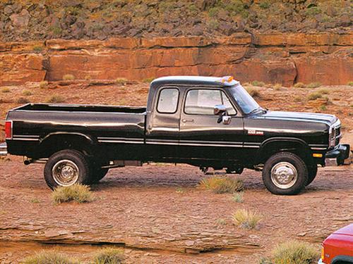 1992 Dodge W150