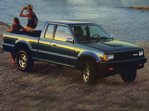 1993 Mazda B2600