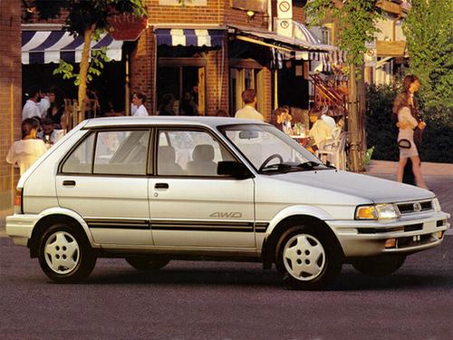 1992 Subaru Justy