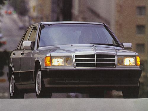 1992–1993 Generation Generation, 1993 Mercedes-Benz 190 model shown