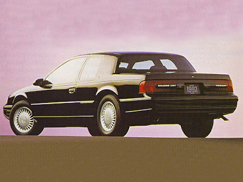 1993 Mercury Cougar Overview