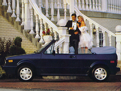 1993 Volkswagen Cabriolet