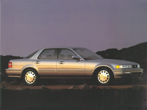 1992 - 1994 Vigor Generation, 1994 Acura Vigor model shown