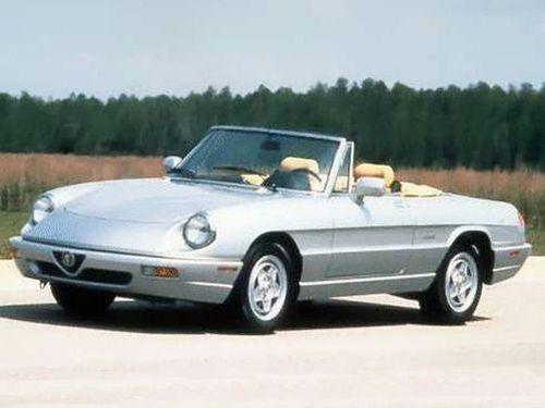 1992–1994 Spider Generation, 1994 Alfa Romeo Spider model shown