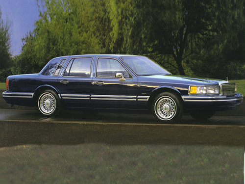 1994 lincoln town car overview. Black Bedroom Furniture Sets. Home Design Ideas