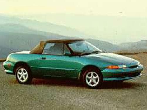 1992–1994 Generation Generation, 1994 Mercury Capri model shown