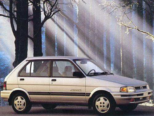 1992–1994 Justy Generation, 1994 Subaru Justy model shown