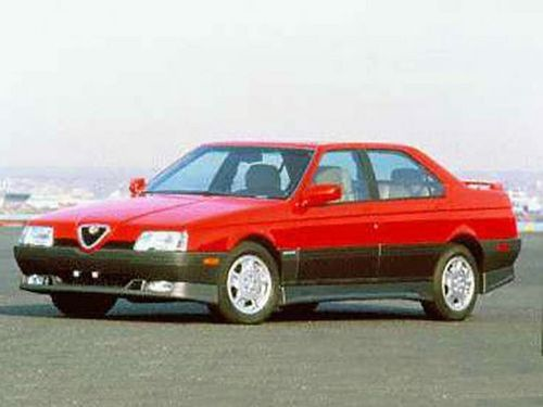 1992–1995 164 Generation, 1995 Alfa Romeo 164 model shown