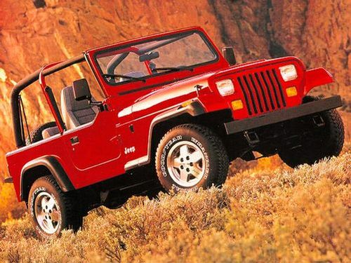 1986–1995 Wrangler Generation, 1995 Jeep Wrangler model shown
