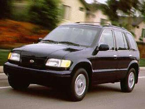 1995 Kia Sportage Overview