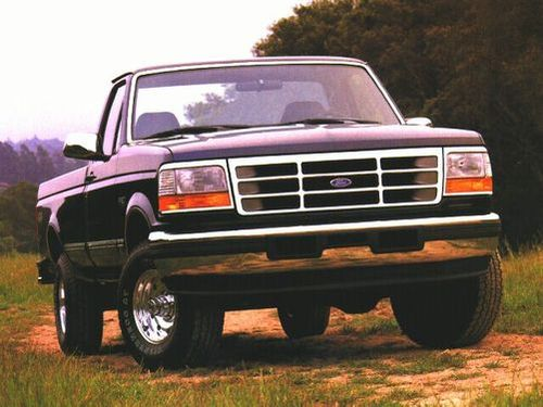 1996 ford f 150 specs pictures trims colors. Black Bedroom Furniture Sets. Home Design Ideas