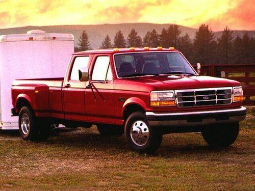 1992–1998 F-350 Generation, 1998 Ford F-350 model shown