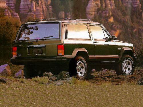 1992–1996 Cherokee Generation, 1996 Jeep Cherokee model shown