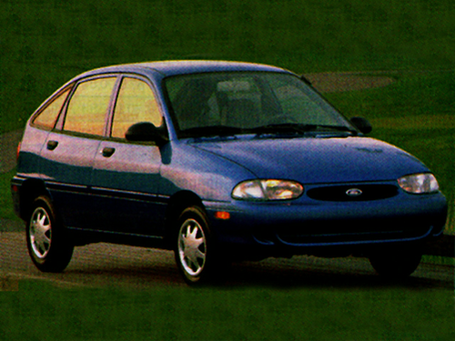 1997 Ford Aspire Overview