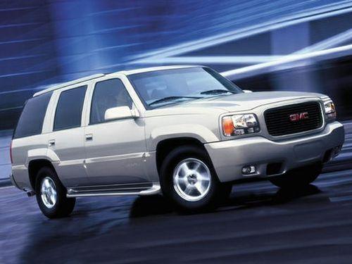 1992–1999 Yukon Generation, 1999 GMC Yukon model shown