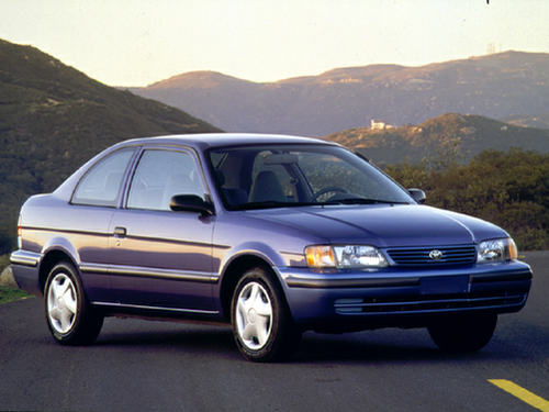 1992 - 1998 Tercel Generation, 1998 Toyota Tercel model shown