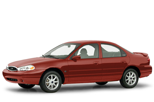 1995–2000 Contour Generation, 2000 Ford Contour model shown