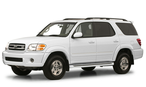2001 toyota sequoia expert reviews specs and photos. Black Bedroom Furniture Sets. Home Design Ideas