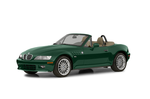 1996–2002 Z3 Generation, 2002 BMW Z3 model shown