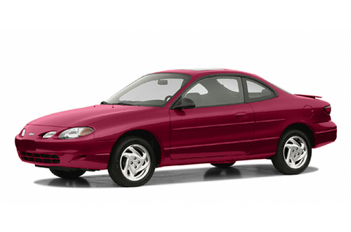 2001–2003 ZX2 Generation, 2003 Ford ZX2 model shown