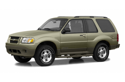2001–2003 Explorer Sport Generation, 2003 Ford Explorer Sport model shown